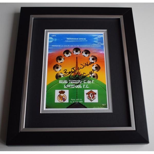 Phil Thompson SIGNED 10X8 FRAMED Photo Display Liverpool 1981 European Cup  AFTAL &  COA Memorabilia   perfect gift
