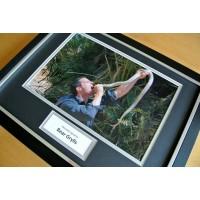 BEAR GRYLLS HAND SIGNED & FRAMED AUTOGRAPH PHOTO DISPLAY SAS MAN V WILD & COA