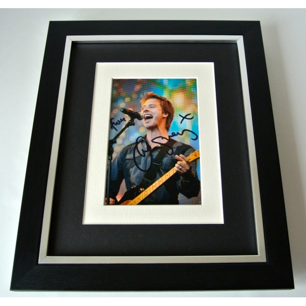 Chesney Hawkes SIGNED 10X8 FRAMED Photo Mount Autograph Display 80's Music COA