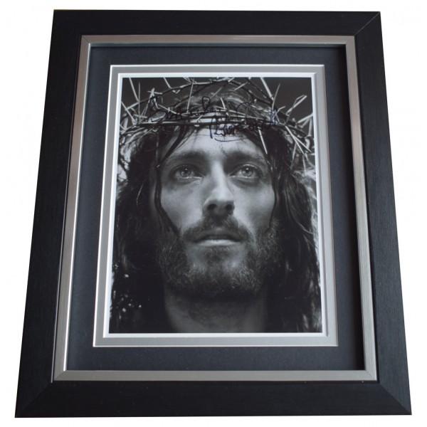 Robert Powell SIGNED 10x8 FRAMED Photo Autograph Display Jesus of Nazareth TV  AFTAL  COA Memorabilia PERFECT GIFT
