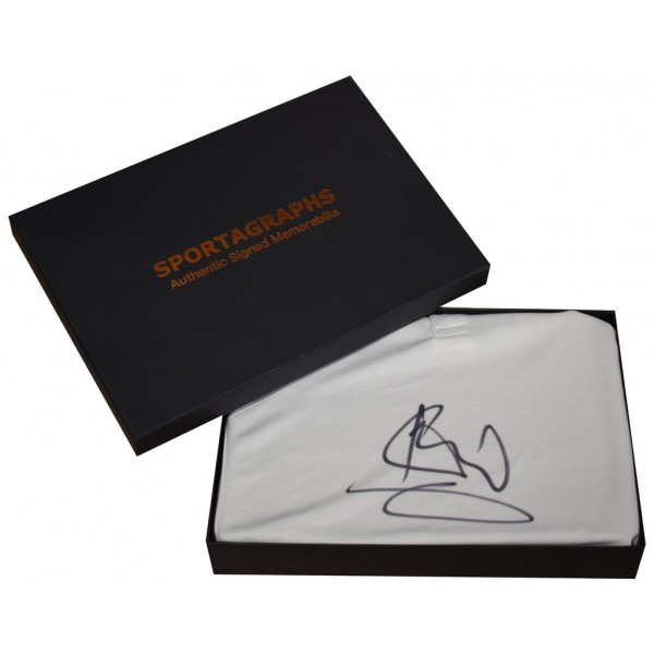 Ian Botham SIGNED Shirt Autograph Gift Box Cricket New Fearnley   AFTAL  COA Memorabilia PERFECT GIFT