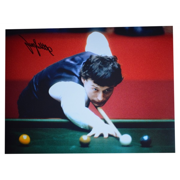 Jimmy White SIGNED autograph 16x12 HUGE photo Snooker Sport AFTAL  COA Memorabilia PERFECT GIFT