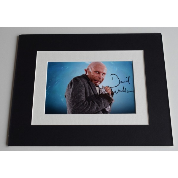 David Walliams Signed Autograph 10x8 photo mount display TV Doctor Who AFTAL COA AFTAL MEMORABILIA