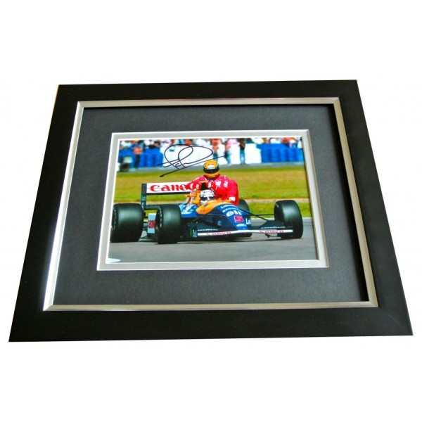 Nigel Mansell SIGNED 10x8 FRAMED Photo Autograph Display Formula 1 Racing & COA PERFECT GIFT