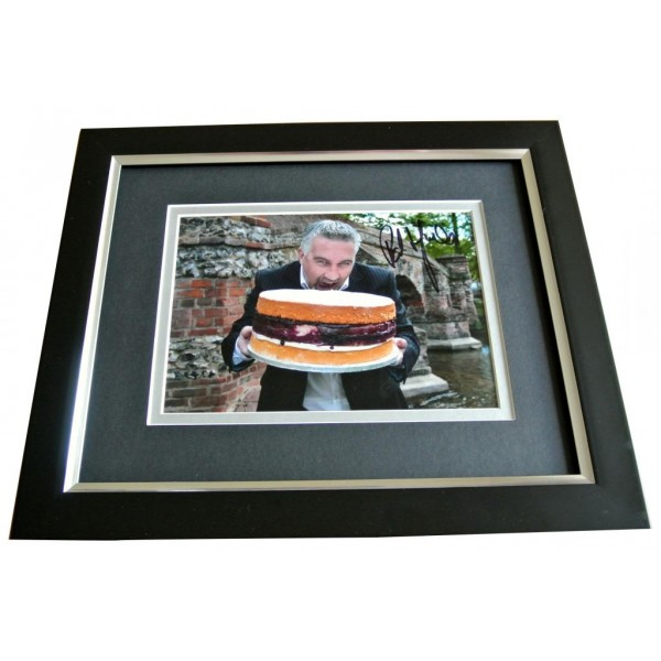 Paul Hollywood SIGNED 10x8 FRAMED Photo Autograph Display Bake Off TV Chef & COA PERFECT GIFT