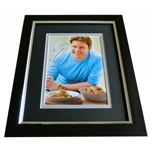 James Martin SIGNED 10x8 FRAMED Photo Autograph Display saturday Kitchen & COA PERFECT GIFT