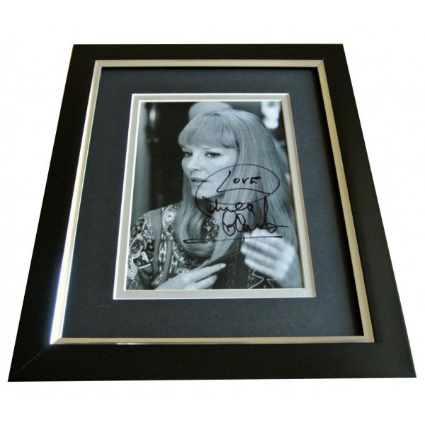 Petula Clark SIGNED 10x8 FRAMED Photo Autograph Display Music Memorabilia & COA PERFECT GIFT
