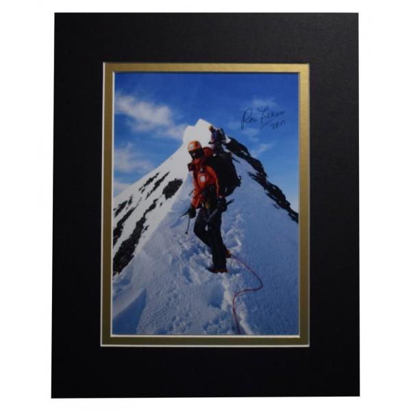 Ranulph Fiennes Signed Autograph 10x8 photo display Explorer TV  AFTAL  COA Memorabilia PERFECT GIFT