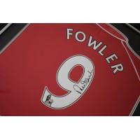 Robbie Fowler SIGNED FRAMED Shirt Photo Autograph Liverpool Football   AFTAL  COA Memorabilia PERFECT GIFT