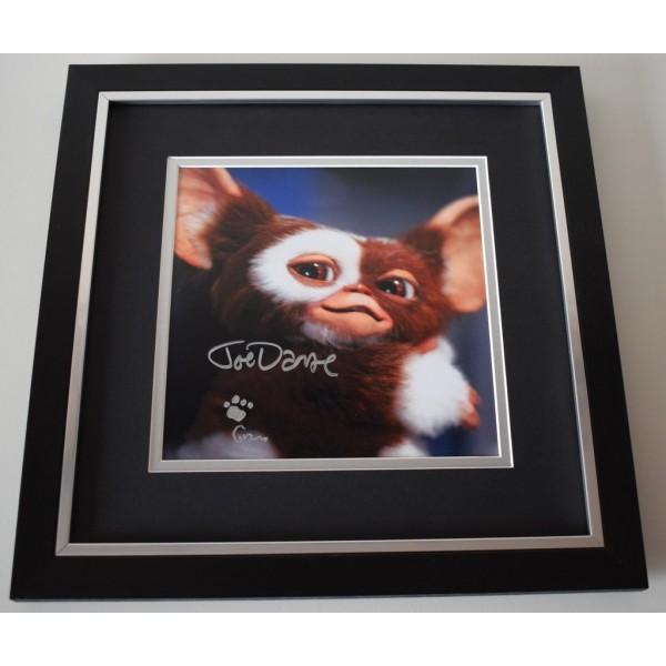Joe Dante SIGNED Framed LARGE Square Photo Autograph display Gremlins  AFTAL &  COA Memorabilia PERFECT GIFT
