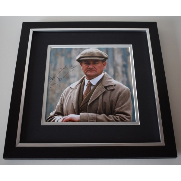 Hugh Bonneville SIGNED Framed LARGE Square Photo Autograph display  AFTAL &  COA Memorabilia PERFECT GIFT