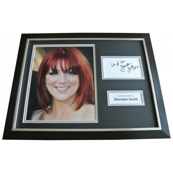 Sheridan Smith Signed & FRAMED Photo Autograph Display TV Cilla Memorabilia COA PERFECT GIFT