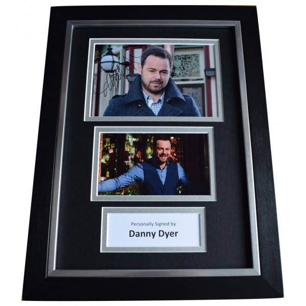 Danny Dyer Signed A4 FRAMED Autograph Photo Display Eastenders TV  AFTAL  COA Memorabilia PERFECT GIFT