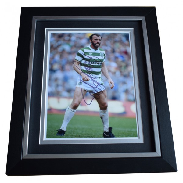 Danny McGrain SIGNED 10x8 FRAMED Photo Autograph Display Celtic   AFTAL  COA Memorabilia PERFECT GIFT
