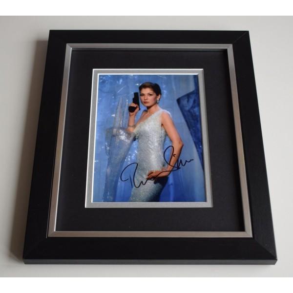 Rosamund Pike SIGNED 10X8 FRAMED Photo Autograph Display James Bond Film TV COA AFTAL MEMORABILIA