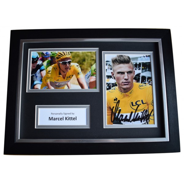 Marcel Kittel Signed A4 FRAMED Autograph Photo Display Cycling Sport   AFTAL  COA Memorabilia PERFECT GIFT