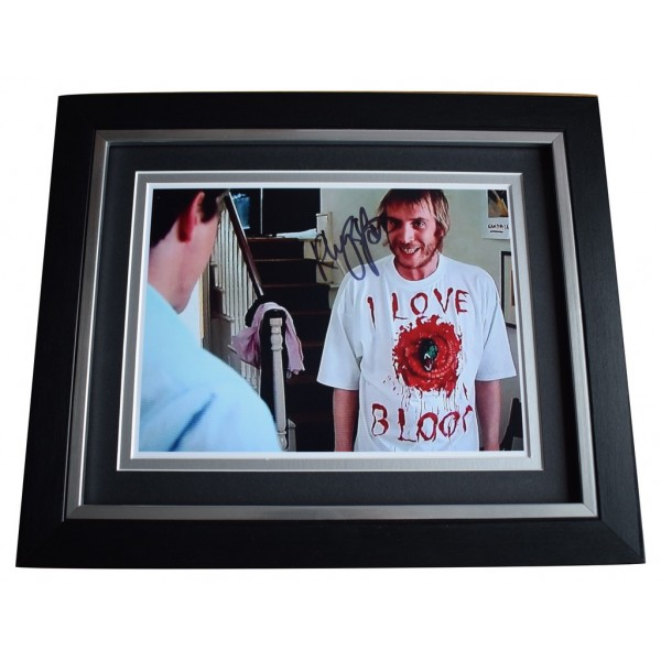 Rhys Ifans SIGNED 10x8 FRAMED Photo Autograph Display Notting Hill Film  AFTAL  COA Memorabilia PERFECT GIFT