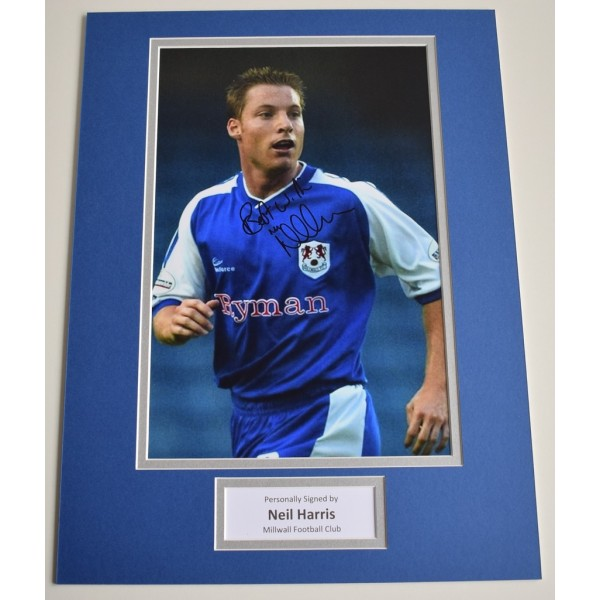 Neil Harris SIGNED autograph 16x12 photo display Millwall Football   AFTAL &  COA Memorabilia