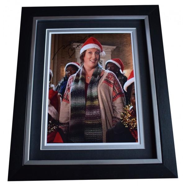 Miranda Hart SIGNED 10x8 FRAMED Photo Autograph Display Comedy TV AFTAL  COA Memorabilia PERFECT GIFT