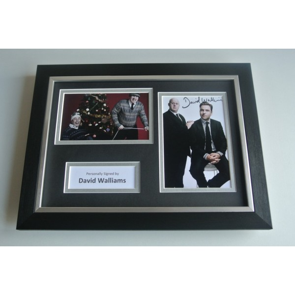 David Walliams Signed A4 FRAMED photo Autograph display TV Memorabilia  COA & AFTAL Memorabilia PERFECT GIFT