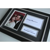 Christopher Plummer Signed A4 FRAMED photo Autograph display Sound of Music COA & AFTAL Memorabilia PERFECT GIFT