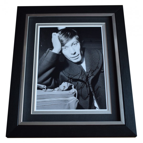 Charlie Watts SIGNED 10x8 FRAMED Photo Autograph Display Rolling Stones   AFTAL  COA Memorabilia PERFECT GIFT