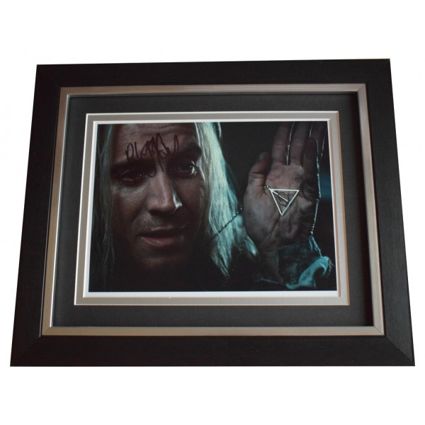 Rhys Ifans SIGNED 10x8 FRAMED Photo Autograph Display Harry Potter Film AFTAL  COA Memorabilia PERFECT GIFT