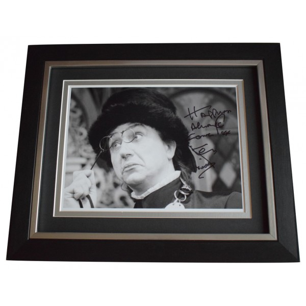 Ken Dodd SIGNED 10x8 FRAMED Photo Autograph Display TV Comedy Inscription  AFTAL  COA Memorabilia PERFECT GIFT