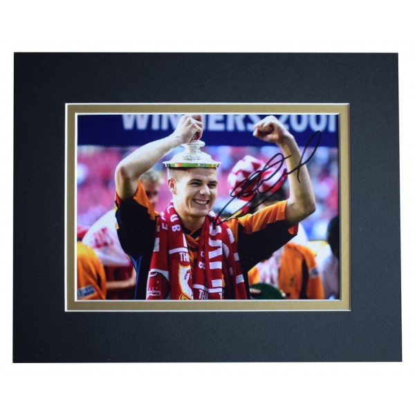 Michael Owen Signed Autograph 10x8 photo display Liverpool Football  AFTAL  COA Memorabilia PERFECT GIFT