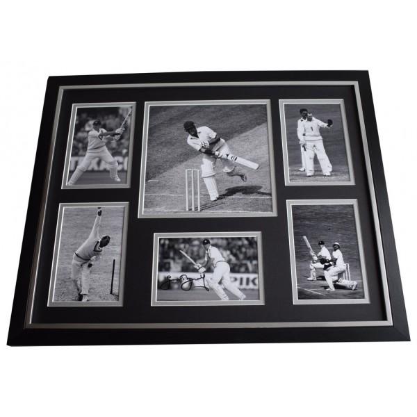 Geoff Geoffrey Boycott SIGNED Framed Photo Autograph Huge display Cricket AFTAL ECB COA Memorabilia