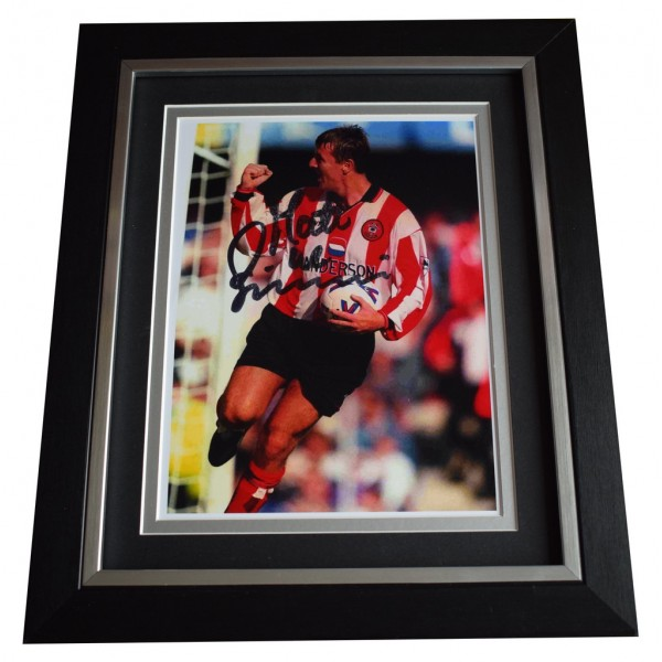 Matt le Tissier SIGNED 10x8 FRAMED Photo Autograph Display Southampton  AFTAL  COA Memorabilia PERFECT GIFT