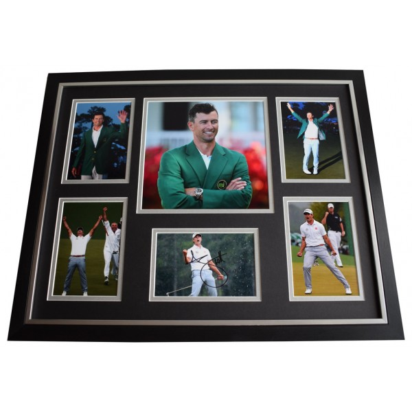 Adam Scott SIGNED Framed Photo Autograph Huge display Golf Sport AFTAL COA US MASTERS Memorabilia