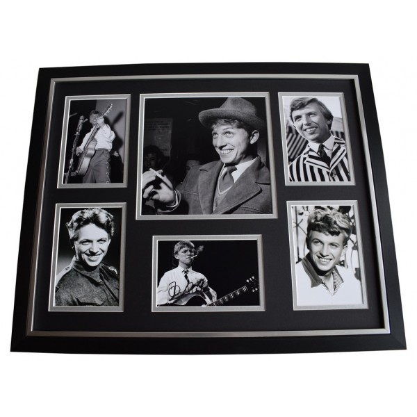 Tommy Steele SIGNED Framed Photo Autograph Huge display Music Film AFTAL COA Memorabilia