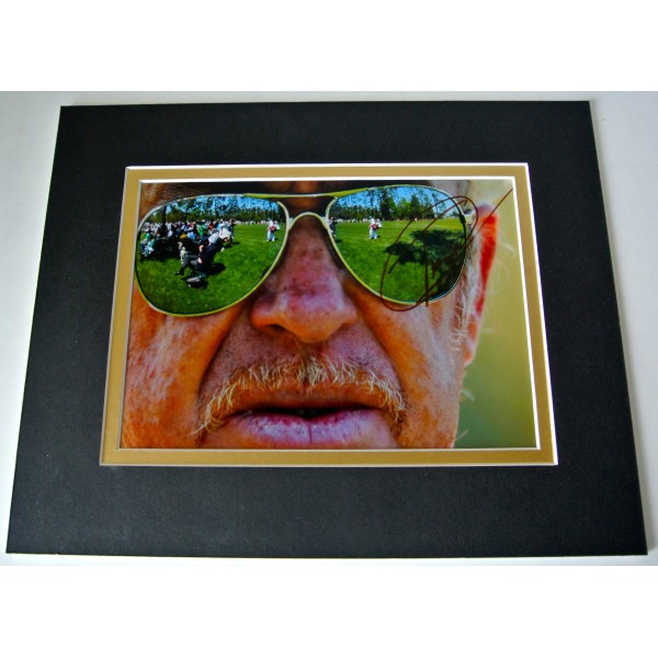 Miguel Angel Jimenez Signed Autograph 10x8 photo mount display Golf & COA Perfect Gift