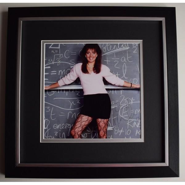 Carol Vorderman SIGNED Framed LARGE Square Photo Autograph display Countdown   AFTAL &  COA Memorabilia