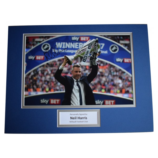 Neil Harris SIGNED autograph 16x12 photo display Millwall Football   AFTAL  COA Memorabilia PERFECT GIFT