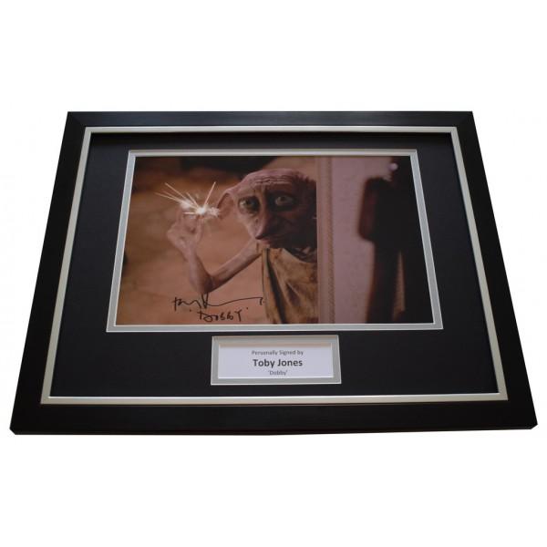 Toby Jones SIGNED FRAMED Photo Autograph 16x12 display Harry Potter Film  AFTAL &  COA Memorabilia