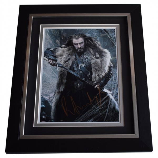 Richard Armitage SIGNED 10x8 FRAMED Photo Autograph Display Hobbit Film AFTAL  COA Memorabilia PERFECT GIFT