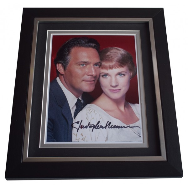 Christopher Plummer SIGNED 10x8 FRAMED Photo Autograph Display Sound of Music  AFTAL  COA Memorabilia PERFECT GIFT