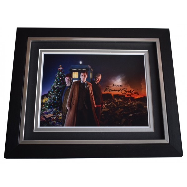 Bernard Cribbins SIGNED 10x8 FRAMED Photo Autograph Display Doctor Who  AFTAL  COA Memorabilia PERFECT GIFT