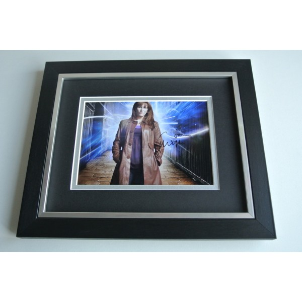 Catherine Tate SIGNED 10X8 FRAMED Photo Autograph Display Doctor Who TV AFTAL & COA Memorabilia PERFECT GIFT