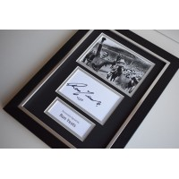 Ron Yeats Signed A4 FRAMED photo Autograph display Liverpool Football AFTAL COA memorabilia