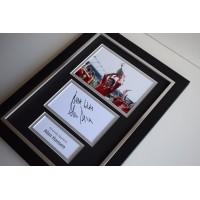 Alan Hansen Signed A4 FRAMED photo Autograph display Liverpool Football COA AFTAL memorabilia