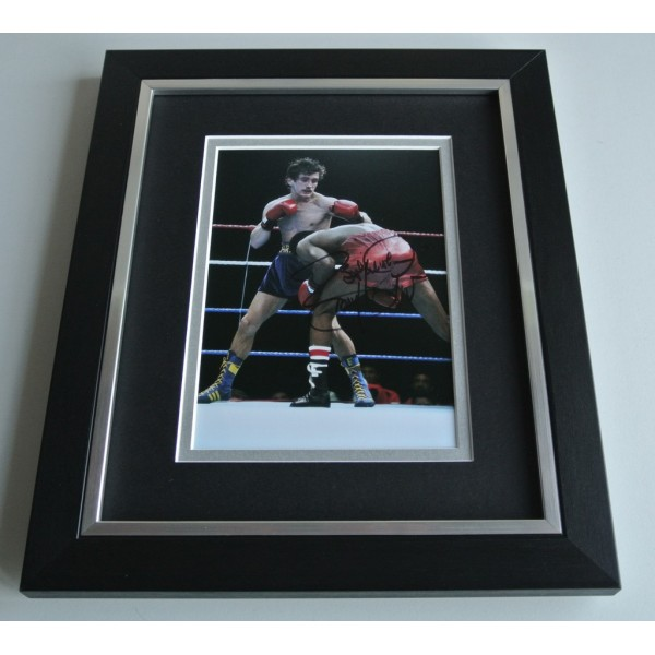 Barry McGuigan SIGNED 10X8 FRAMED Photo Autograph Display Boxing AFTAL & COA Memorabilia PERFECT GIFT