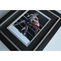Barry McGuigan SIGNED 10X8 FRAMED Photo Autograph Display Boxing AFTAL & COA Memorabilia PERFECT GIFT