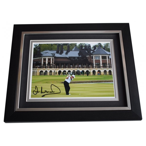 Ian Woosnam SIGNED 10x8 FRAMED Photo Autograph Display Golf Sport AFTAL  COA Memorabilia PERFECT GIFT