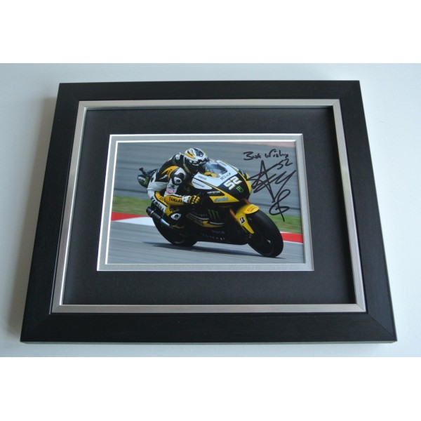 James Toseland SIGNED 10X8 FRAMED Photo Autograph Display Superbikes Racing  AFTAL & COA Memorabilia PERFECT GIFT