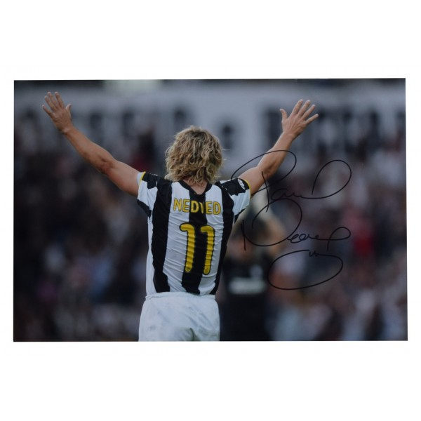 size 40 766a6 8a7dd Pavel Nedved Authentic Memorabilia and Autographs