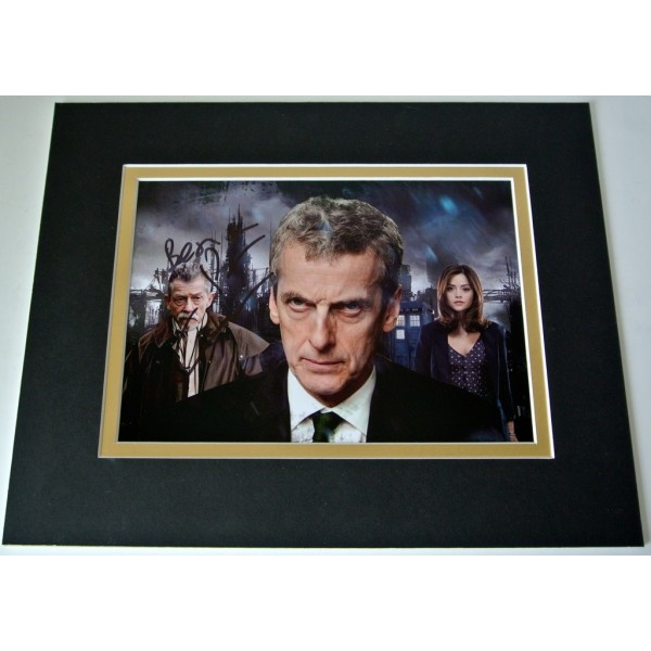 Peter Capaldi Signed Autograph 10x8 photo mount display Doctor dr who TV & COA  PERFECT GIFT