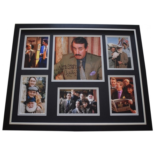 John Challis SIGNED Framed Photo Autograph Huge display Only Fools  Inscription   AFTAL &  COA Memorabilia PERFECT GIFT